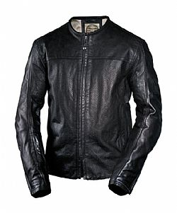RSD LEATHER JACKET BARFLY PERFORATED